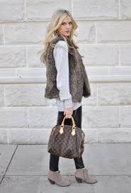 pinterest fur vest oasis amor fashion