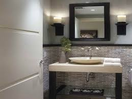 Small Guest Bathroom Ideas by Glamorous Small Modern Half Bathroom