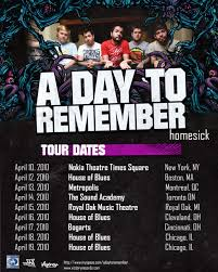 a day to remember tour poster by meriaun on deviantart