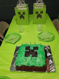 blog the easy peasy minecraft birthday party