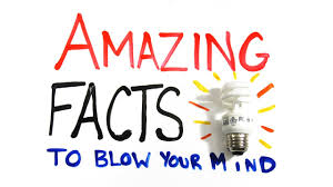 interesting facts about world to your mind and amaze you