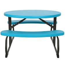 Plastic Folding Picnic Table Lifetime 60229 24 13 16