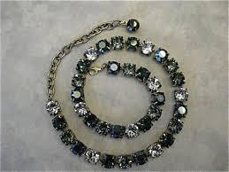 blue crystal necklace swarovski images Swarovski crystal tiffany blue bridesmaid tennis bracelet aqua jpg