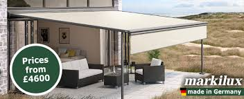markilux pergola retractable patio awning terrace cover