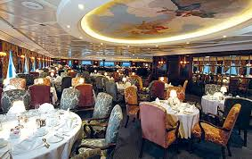 Grand Dining Room Oceania Cruises Sirena Cruise Ship Dining Restaurants U0026 Menus
