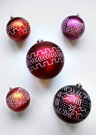 diy mudcloth ornaments alyse