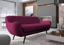 canap fushia zefir fuchsia scandinavia sofa