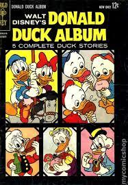 donald duck album 1963 comic books
