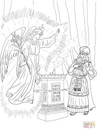 elizabeth and zechariah coloring pages coloring home