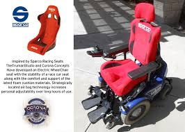 the sparco wheelchair seat system create the future design contest
