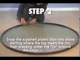 glass top patio table rim clips tropitone how to replace table top youtube