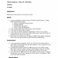 Sample Resume For Truck Driver With No Experience Cover Letter Resume Examples For Truck Drivers Truck Driver Resume