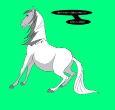 spirit horse base 87 by lineartforfree on deviantart