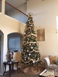 charming decoration 12 ft pre lit tree ge led