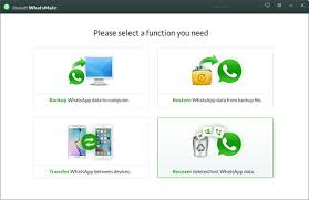transfer whatsapp messages from iphone to android jihosoft whatsmate user guide