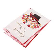 dimensional folding greeting cards blessings universal handmade