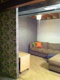 12 finishing touches for your unfinished basement fabric ceiling