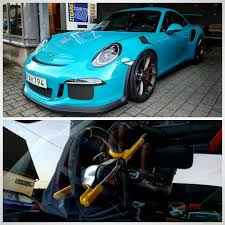 miami blue porsche boxster miami blue porsche 911 gt3 rs gets old fashioned steering wheel