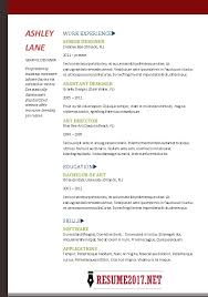 Free Resume Maker Word Resume Builder And Download Free Resume Template And
