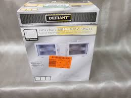 Defiant Solar Motion Security Light Lights Ceiling Fans Electrical Led Upgrades More In Dassel