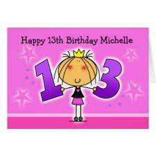 13th birthday cards u0026 invitations zazzle com au