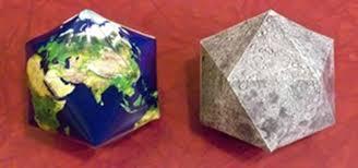 how to make icosahedral planet ornaments math craft wonderhowto