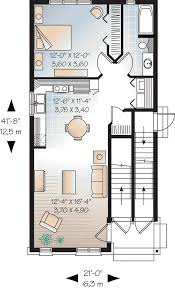 Multiplex Floor Plans Multi Family Plan 64953 At Familyhomeplans Com