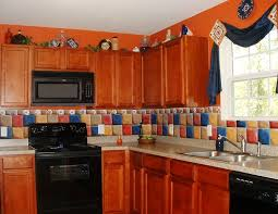 painted tiles for kitchen backsplash painted tiles kitchen backsplash design railing stairs and