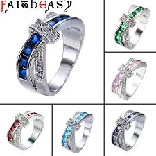 Birthstone Wedding Rings by High Quality Couple Engagement Rings Promotion Shop For High
