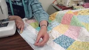 make a baby quilt part 4 fabric selection assembly