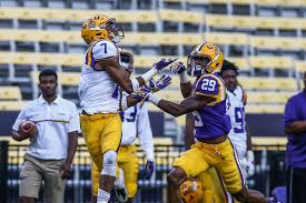 2017 lsu spring game recap impressions thoughts quotes and