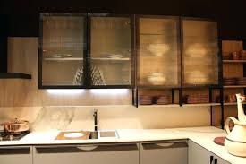 Smoked Glass Cabinet Doors Wireless Led Lighting System Great Kitchen Cabinets Best For Under