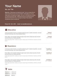 resume templates word 2013 basic resume template 51 free samples examples format word 2003