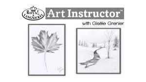 royal u0026 langnickel art instructor series 1 sketching youtube