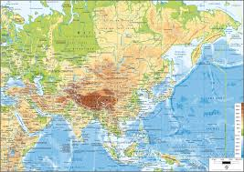 map asie 34 sebastien laurent carte asie map le monde vu d en bas gif 1 184