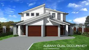 Double Storey Duplex Home Design Tullipan Homes - Duplex homes designs