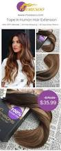 Ombre Hair Extensions Tape In by 25 Best Ombre Human Hair Extensions Ideas On Pinterest Colored