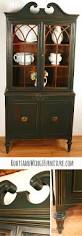 hold for stella antique hutch in hunter green china cabinet