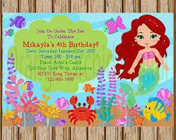 mermaid invitations mermaid party invitation mermaid