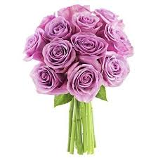 purple roses kabloom bouquet of 12 purple roses fresh flowers for delivery