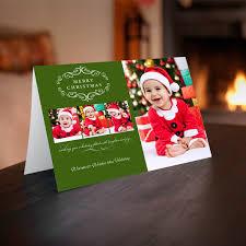 holiday folding cards custom photo cards winkflash