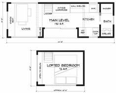 Tiny House On Wheels Plans Free Tiny Home Two Lofts Great And Instead Of Having The One End