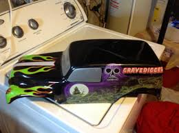 traxxas grave digger rc monster truck my grave digger body r c tech forums