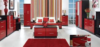 Red And Black Furniture For Living Room by Bedroom Design Red Bedroom With Black Furniture Video And