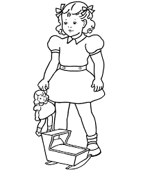 bluebonkers coloring pages baby doll free