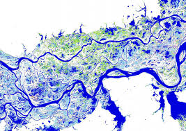 Parana River Map Maps Of Earth U0027s Surface Water Show Changes Over Past 32 Years