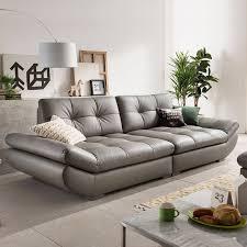 canap 4 places cuir véritable canapé en cuir coupe salon canapé coin meubles de maison