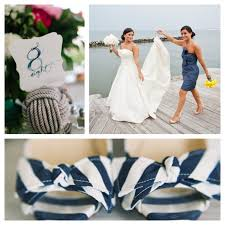 nautical weddings 8 seaworthy wedding ideas before summer ends let s bask in some