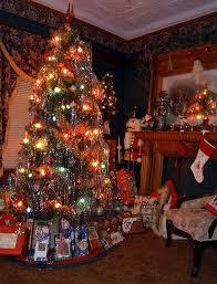 old fashioned christmas tree christmas decor