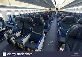Boeing 787 Dreamliner Interior Economy Class Seats Inside A Boeing 787 9 Dreamliner Of The